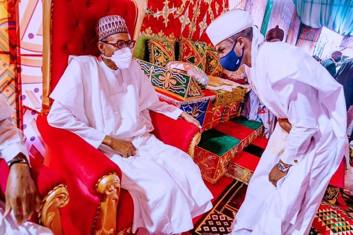 President Muhammadu Buhari commends Emirs, Kings and Cheifs for Making Nigeria Great